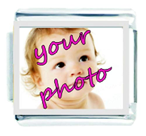 Picture of Add Your Own Photo Custom Made Italian Charm